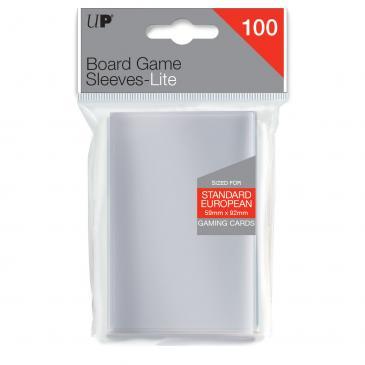 Standard European Sleeves: Clear 59x92mm (100 buc) [0]
