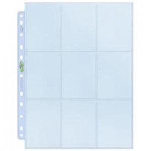 Platinum 9-Pocket Pages (11 Hole) - UP 0