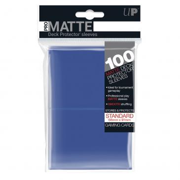 Standard Sleeves: PRO-Matte Blue 66x91mm (100 buc) - UP 0