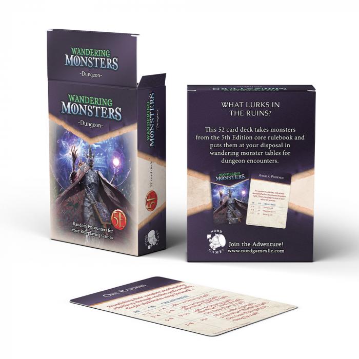 Wandering Monsters Deck: Dungeon - EN 0