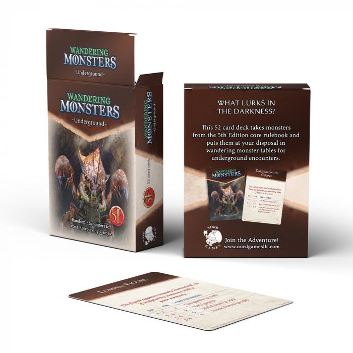 Wandering Monsters Deck: Underground 0