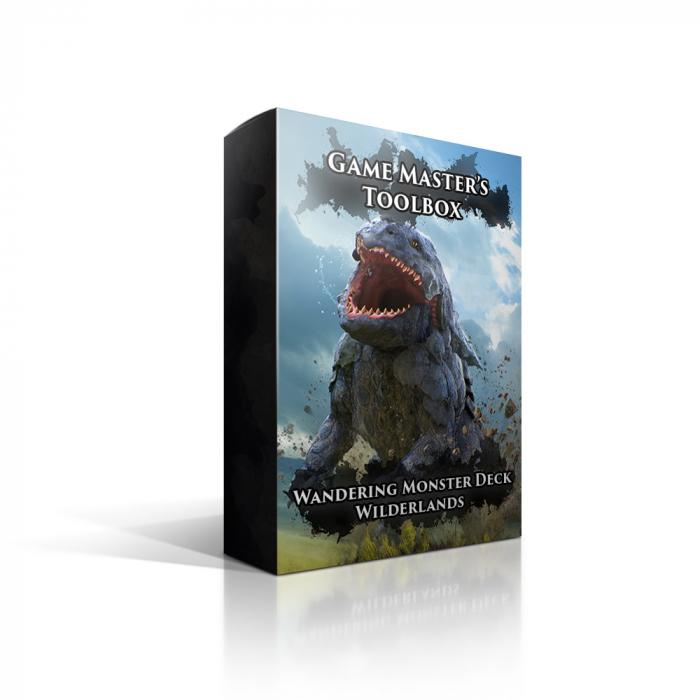 Wandering Monsters Deck: Wilderlands - EN 0