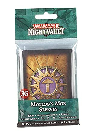 Warhammer Underworlds: Mollogs Mob Sleeves 0