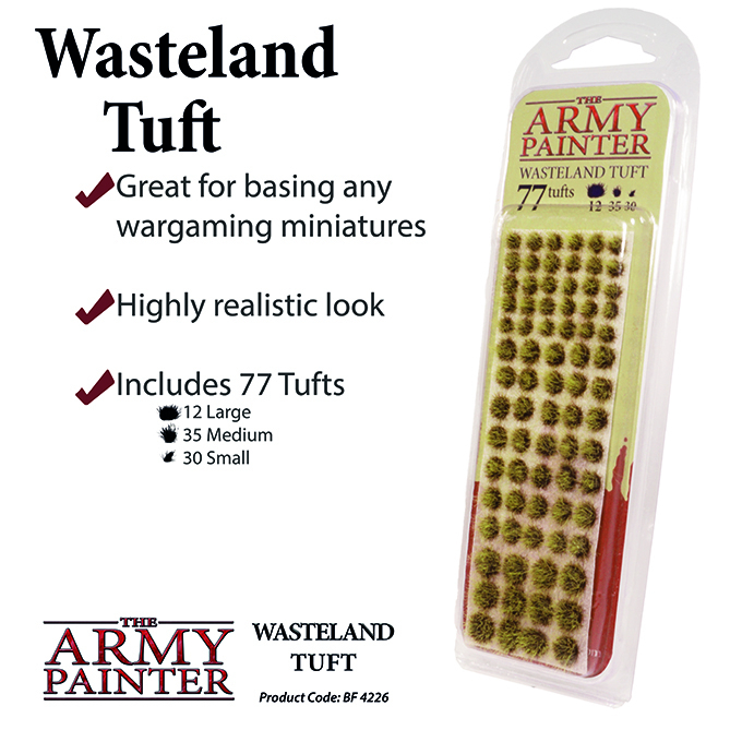 Wasteland Tuft - The Army Painter 1