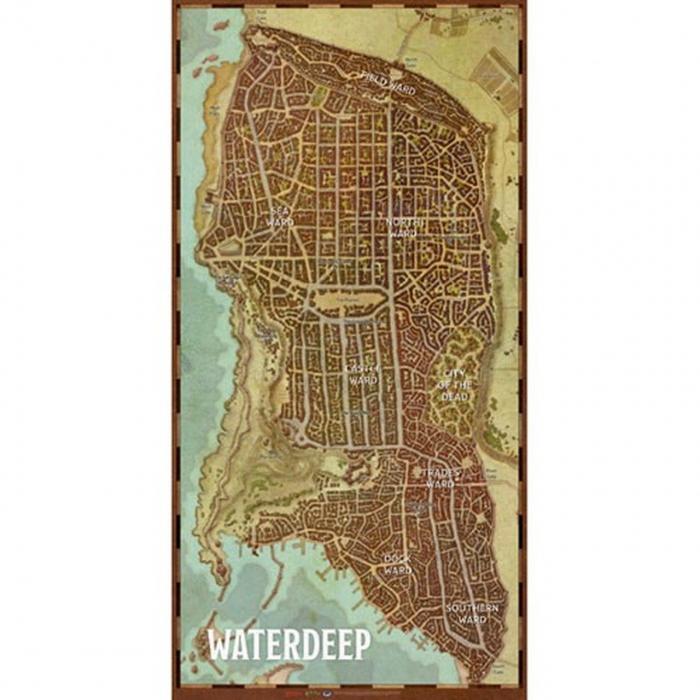 Waterdeep Vinyl Game Mat 0