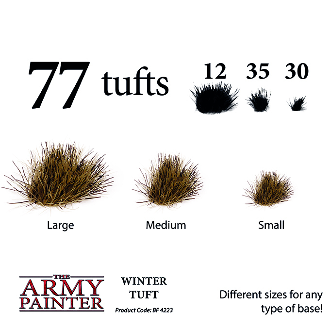 Winter Tuft - The Army Painter 2