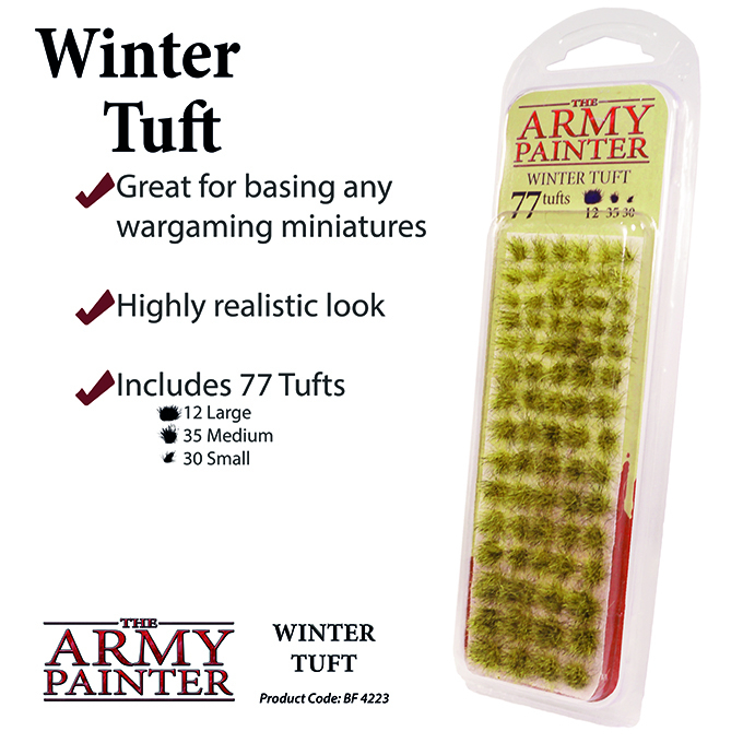 Winter Tuft - The Army Painter 1