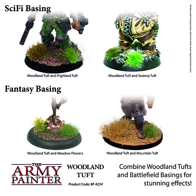 Woodland Tuft - The Army Painter 4