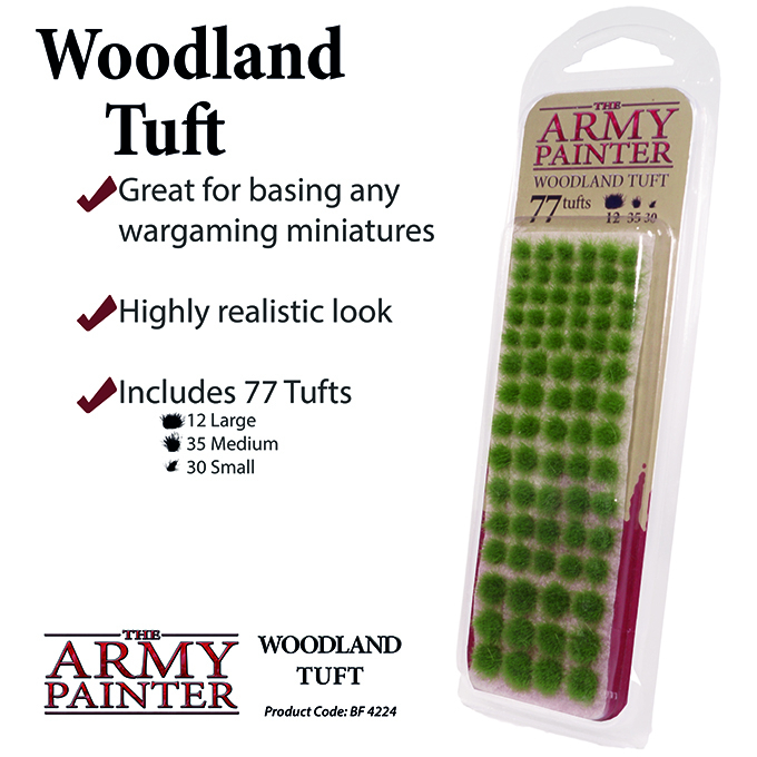 Woodland Tuft - The Army Painter 1