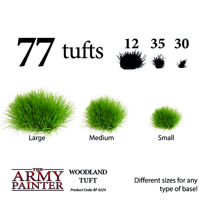 Woodland Tuft - The Army Painter 2