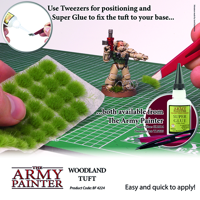 Woodland Tuft - The Army Painter 3
