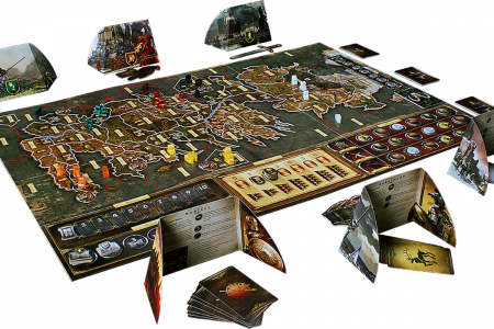 A Game of Thrones Boardgame 2nd Edition - EN1