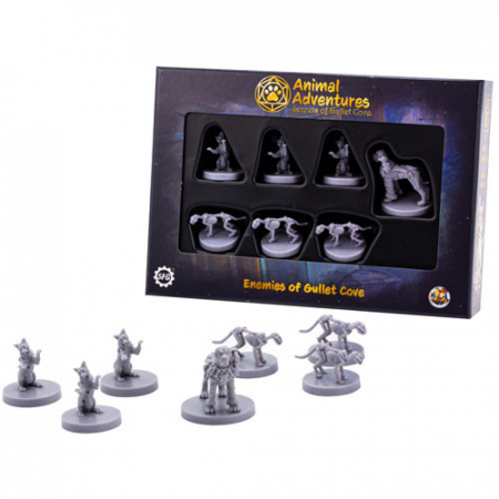 Animal Adventures Gullet Cove Bad Guys Miniatures - Promo Pack [2]