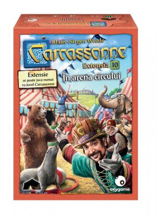 Carcassonne Extensia 10 - In arena circului (Extensie) - RO [0]