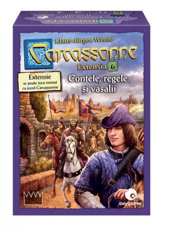 Carcassonne Extensia 6 - Contele, regele și vasalii (Extensie) - RO