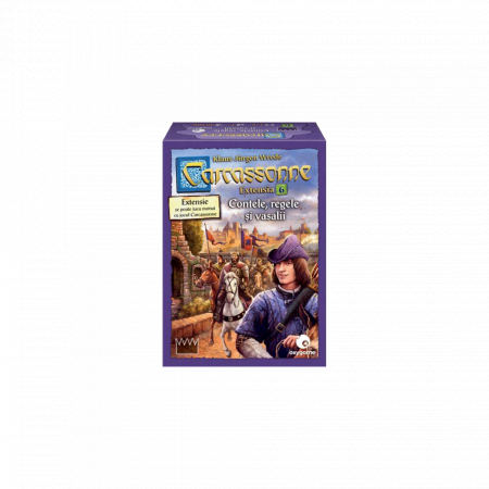Carcassonne & Extensia 6 - Promo Pack2