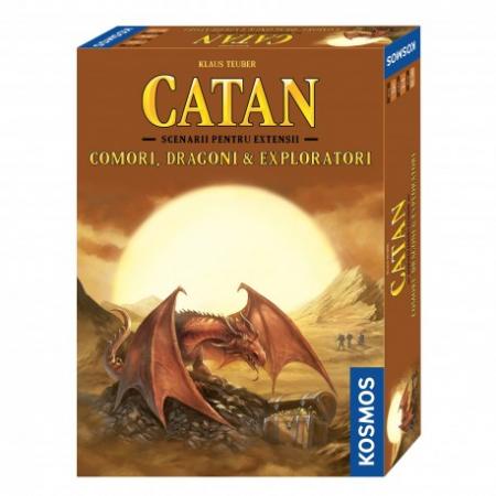 Catan - Comori, Dragoni si Exploratori (Extensie) - RO0