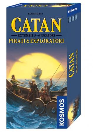 Catan - Pirati si Exploratori ext. 5-6 - RO0