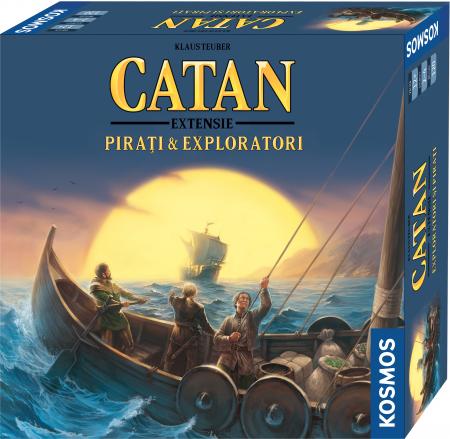 Catan - Pirati si Exploratori (Extensie)0