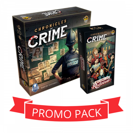 Chronicles Of Crime & Redview - Promo Pack [0]