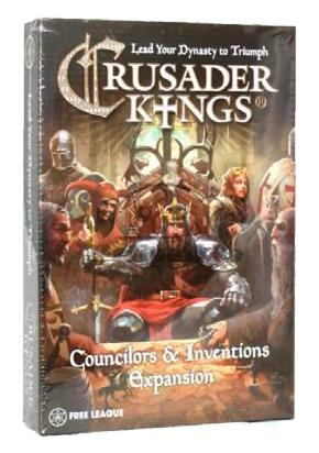 Crusader Kings: Councilors & Inventions (Extensie) - EN