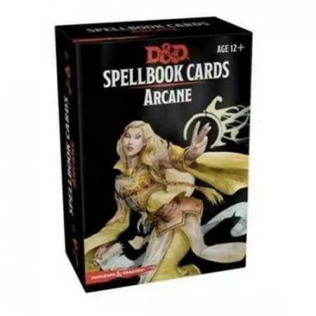 D&D Arcane Spellbook Cards - EN