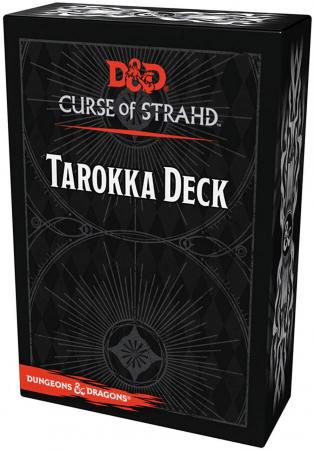 D&D Curse of Strahd: Tarokka Deck (54 Cards) - EN0