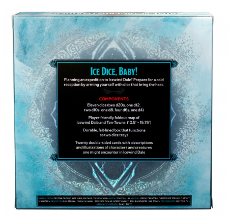 D&D Icewind Dale: Rime of the Frostmaiden Dice Set - EN1
