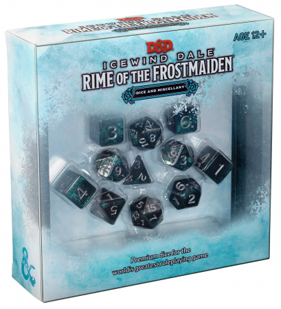 D&D Icewind Dale: Rime of the Frostmaiden Dice Set - EN0