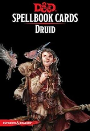 D&D Spellbook Cards - Druid - EN0