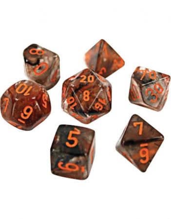 Nebula Matrix/Orange Luminary Poly 7 Set [0]
