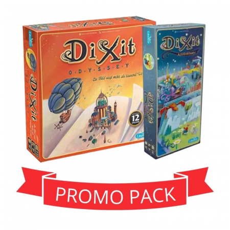 Dixit Odyssey & Dixit 9 - Promo Pack0
