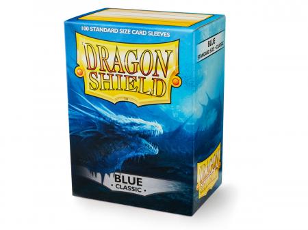 Standard Sleeves: Blue 63x88mm (100 buc) - Dragon Shield0