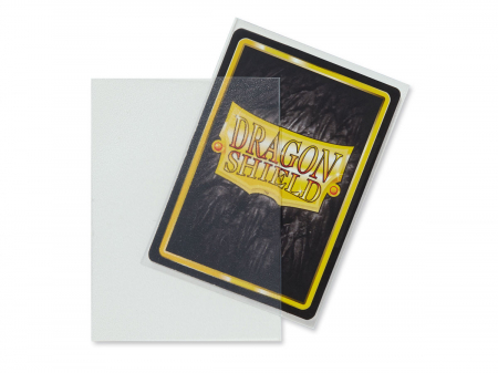 Standard Sleeves: Matte Clear 63x88mm (100 buc) - Dragon Shield [1]