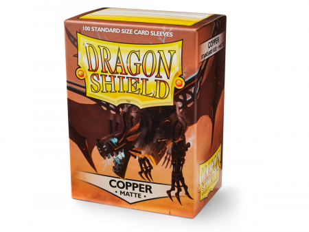 Dragon Shield Standard Sleeves - Matte Copper (100 Sleeves)0