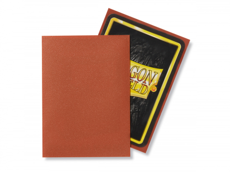 Dragon Shield Standard Sleeves - Matte Copper (100 Sleeves)1