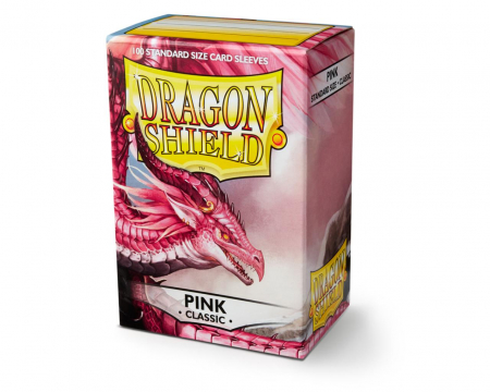Standard Sleeves: Pink 63x88mm (100 buc) - Dragon Shield0