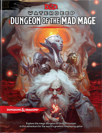 Waterdeep: Dungeon of the Mad Mage (D&D 5e Adventure) - EN
