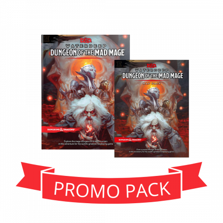 Dungeon Of The Mad Mage + Maps - Promo Pack0