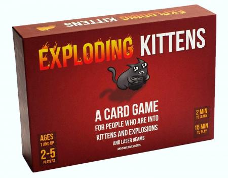 Exploding Kittens Family - Promo Pack1