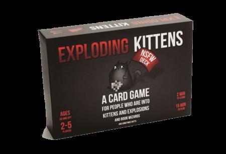 Exploding Kittens: NSFW Edition - EN