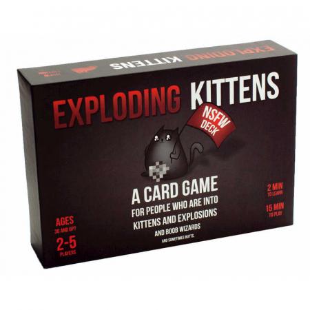 Exploding Kittens NSFW & Streaking Kittens - Promo Pack [1]
