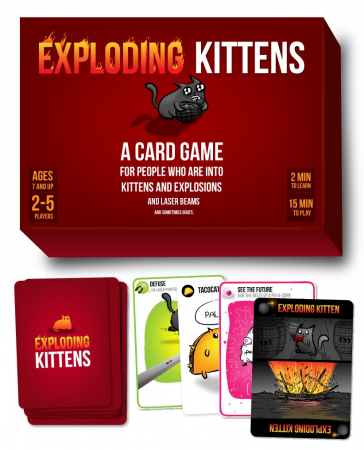 Exploding Kittens Original Edition - EN1
