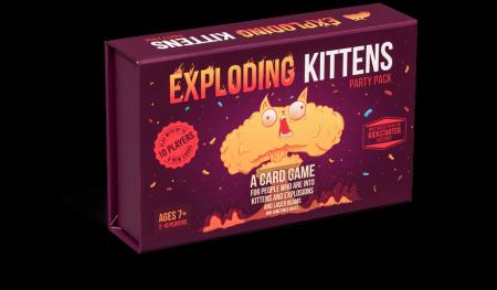 Exploding Kittens Party Pack0