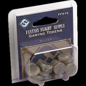 Gaming Tokens - Silver - Fantasy Flight Games0
