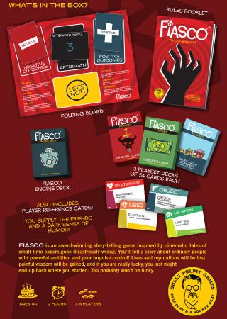 Fiasco RPG (2nd Edition) - EN1