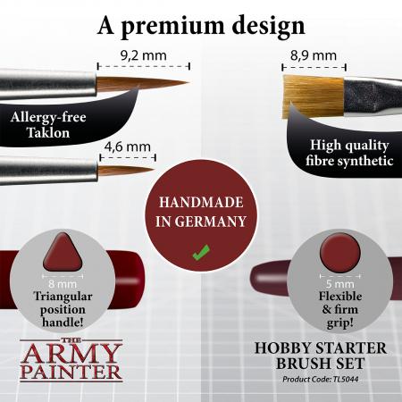 Hobby Starter Brush Set - The Army Painter3