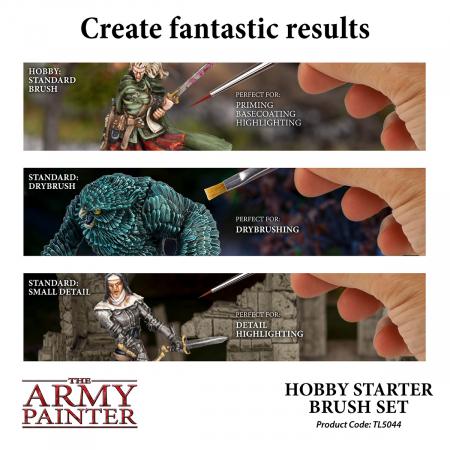 Hobby Starter Brush Set - The Army Painter2