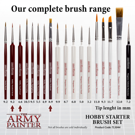 Hobby Starter Brush Set - The Army Painter4