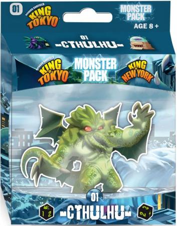 King of Tokyo: Monster Pack - Cthulhu (Extensie) - EN0